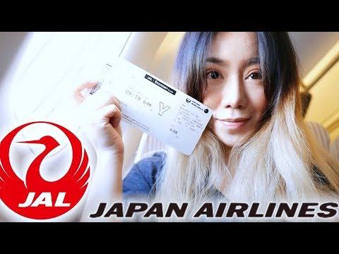 日本航空|超日系機上餐+難喝咖啡&很陽春娛樂系統 (抽獎) Japan Airlines