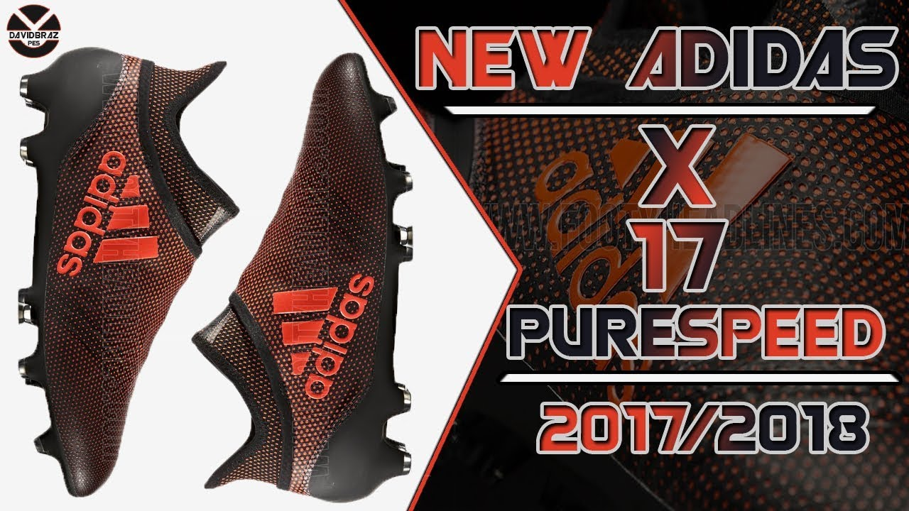 12458404a PES 2013 | New Boots • Adidas X 17+ Purespeed • 2017 / 2018 • HD ...