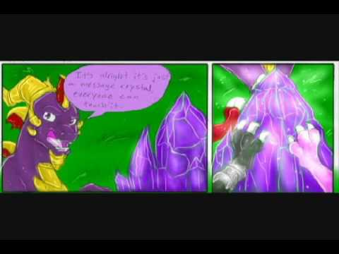 Spyro And Cynder Comics ''A New''