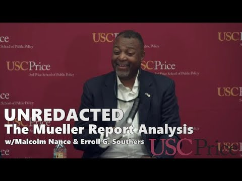 Download UnREDACTED: Mueller Report Analysis // Malcolm Nance at USC Price (4/30/19) MSNBC