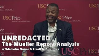 UnREDACTED: Mueller Report Analysis // Malcolm Nance at USC Price (4/30/19) MSNBC
