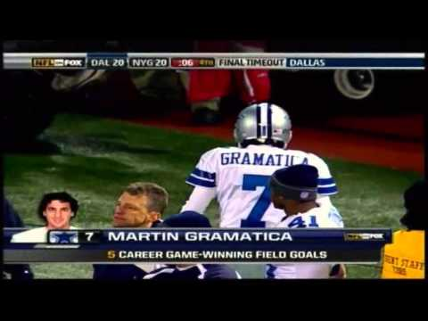 Romo to witten 06 Giants 12/3/06
