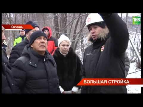 Перед отъездом в Москву Ирек Файзуллин побывал на всех главных стройплощадках Казани