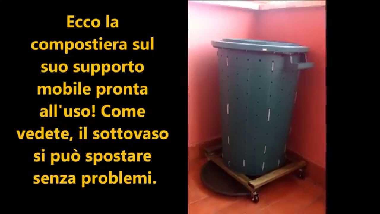 Compostiera da balcone fai da te. Le istruzioni. - YouTube