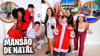 TOUR PELA MANSÃO GIGANTE DE NATAL! *muuito grande*