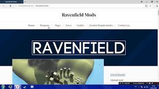 Как установить ОРУЖИЯ на игру ravenfield