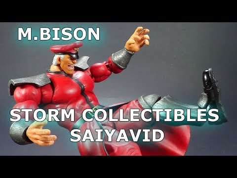 M.Bison Street Fighter V Storm Collectibles Review en Español