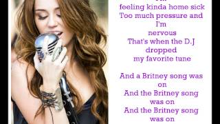 Miley Cyrus - Party in The U.S.A Lyrics !