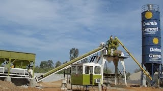 ATLAS INDUSTRIES STATIONARY CONCRETE BATCHING PLANT VIDEO
