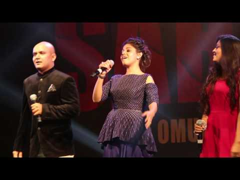 Sunidhi Chauhan & Sukhwinder Singh Singing Tung Lak Live - Sarbjit Musical Eve