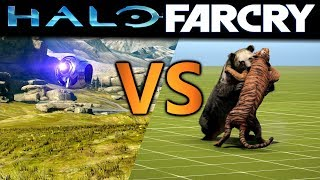 Which Is Better? Far Cry Map Editor VS. Halo Forge