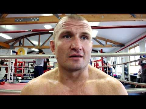 DAMIAN GRABOWSKI TALKING ABOUT TRAINING WITH SAM COLONNA AND ANDRZEJ FONFARA