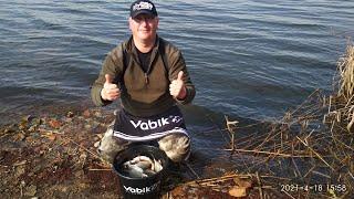 Фидерная рыбалка на озере весной 2021 Попал на клёв Красивые поклёвки крупным планом