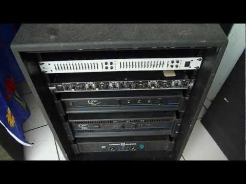 Rack De Amplificadores Y Liquido Para Maquinas De Humo