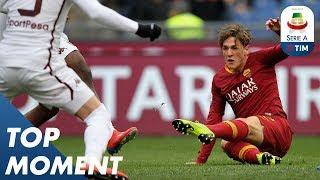 Zaniolo Breaks Deadlock With Brilliant Improvised Finish | Roma 3-2 Torino | Top Moment  | Serie A