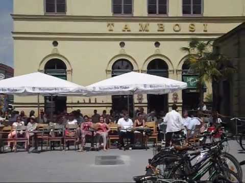 Munich, Germany: The area around the Königsplatz and the Odeonsplatz