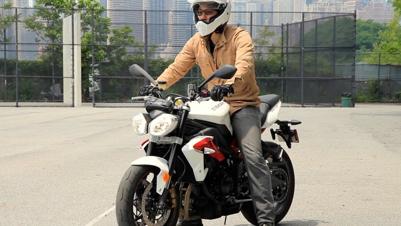 How to Walk a Motorcycle | Motorcycle Riding