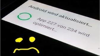 Projekt WinDroid - App 1 von 2 wird optimiert