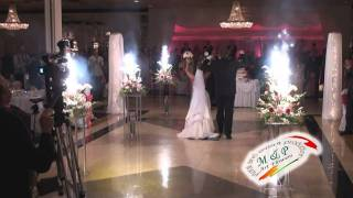 Chicago Wedding Flowers and Decorations-Fireworks by M & P Floral and Event Production