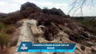 É dramática a situação do açude Cedro em Quixadá. 26/08/2018