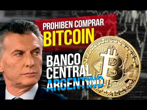 ✅ ARGENTINA PROHÍBE COMPRAR BITCOIN