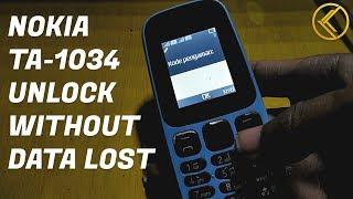 Buka kode pengaman Nokia 105 TA1034 Tanpa hapus data Tonton Video lainnya ya sob.... TEKNISI NDESO..