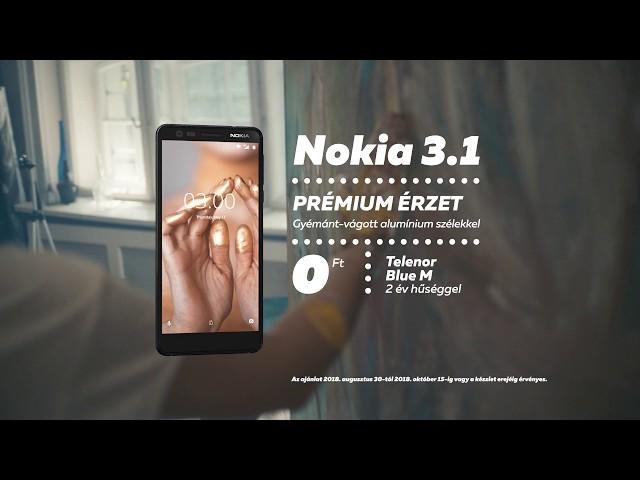 Minden #hmmmmm pillanatra: Nokia 3.1