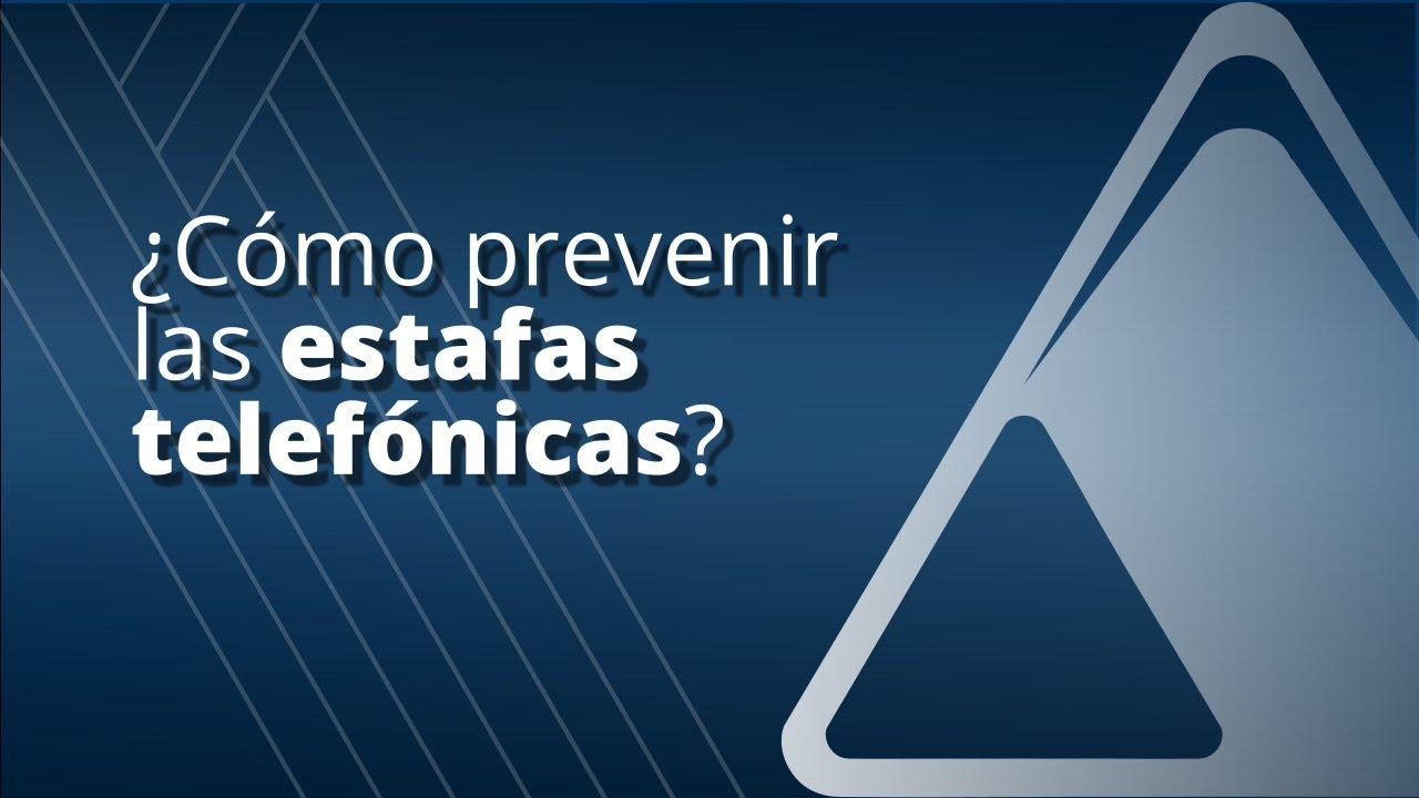 Ministerio Público de la Acusación (MPA). Prevención ante estafas telefónicas.