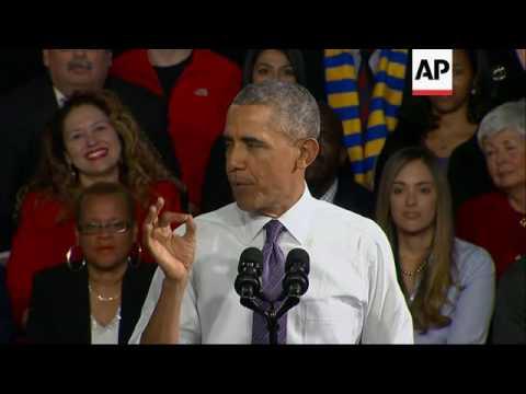 Obama: 20 Million insured through his health law