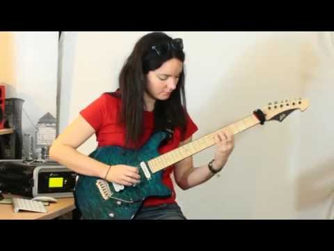 30 Days Guitar Challenge #16: Fast and extended pentatonic run