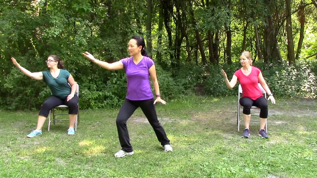 3 Easy Tai Chi Videos for Seniors Prevent Falls, Improve Balance and