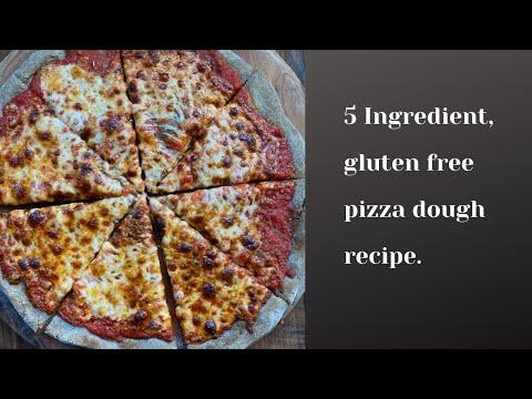 5 Ingredient Gluten Free Pizza Dough