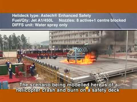 Aluminium Offshore - Deck Intregrated Fire Fighting System - DIFFS