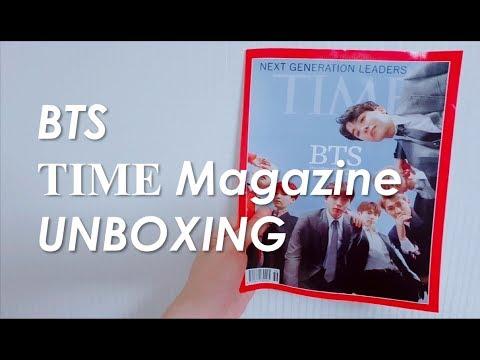 BTS (방탄소년단) TIME MAGAZINE UNBOXING Mp3