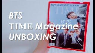 BTS (방탄소년단) TIME MAGAZINE UNBOXING
