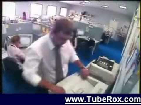 Guy Photocopies his Monitor
