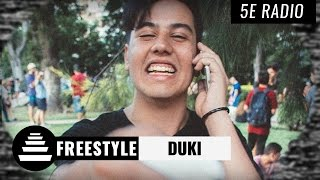DUKI / Freestyle (!!!!) - El Quinto Escalon Radio (21/03/17)