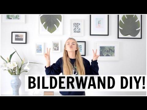HOW TO GALLERY WALL | Bilderwand selbstgemacht !