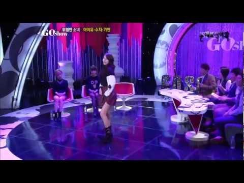 121102 Suzy Solo Dance [GO SHOW]