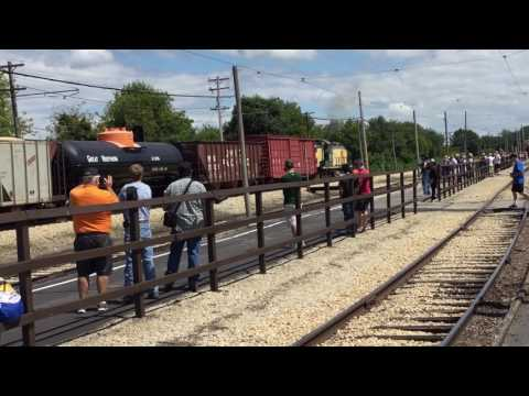 Highlights of the 2017 Illinois Railway Museum Diesel Days w/ UP 1988/1996 and more 08/12/17