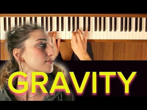 Gravity (Sara Bareilles) [Easy Piano Tutorial]