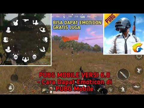 Pubg Mobile Versi 6 0 Cara Dapat Emoticon Di Pubg Mobile Youtube