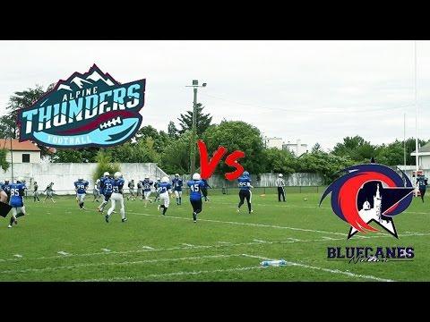 Football Américain Féminin Les Alpines Thunders vs Les Blue Canes