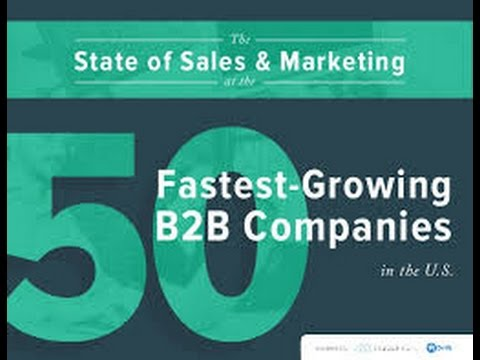 The State of Sales & Marketing at the Fastest Growing B2B Companies in the USA