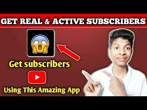 🔥Get Free Subscribers Using This Amazing App|Get Free Subscribers From Reddit App🔥👍
