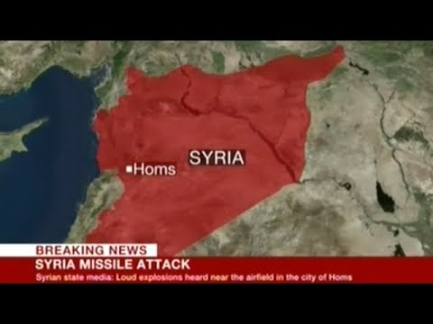 BREAKING! SYRIAN STATE TV REPORTING U.S. DENIES ANY KNOWLEDGE OF MILITARY AIRBASE BEING BOMBED