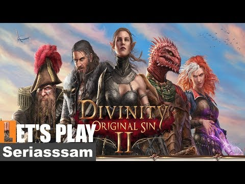 Divinity: Original Sin 2: Full Release Gameplay – Lets Play [Single player] – Twitch Stream – Part 1
