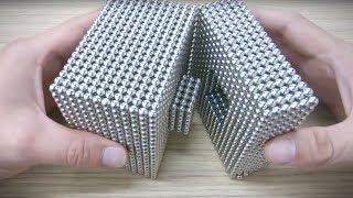 DIY - How To Make A Cube Out Of Magnetic Balls | Satisfying and Relax