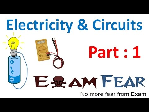 Physics Electricity & Circuit Part 1 (Electric Current) Class 6 VI