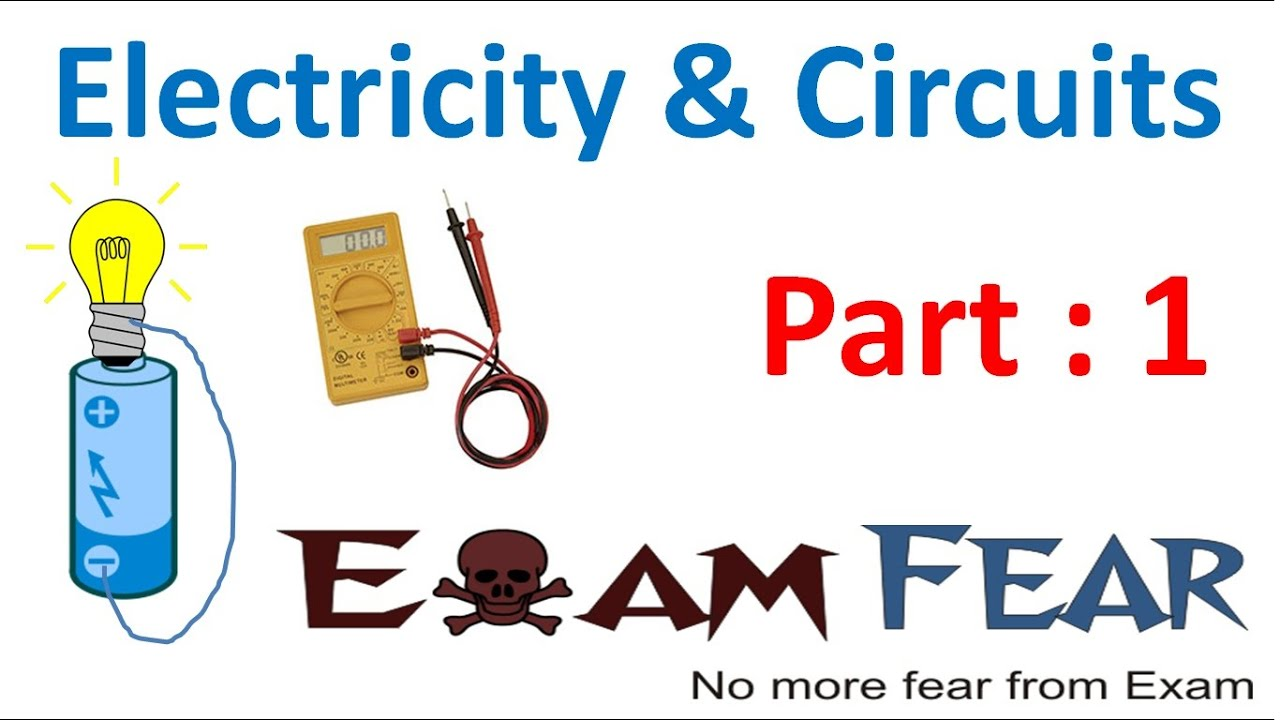 Physics Electricity Circuit Part 1 Electric Current Class 6 Vi Simple Circuits For Kids To Make Hqdefaultjpg
